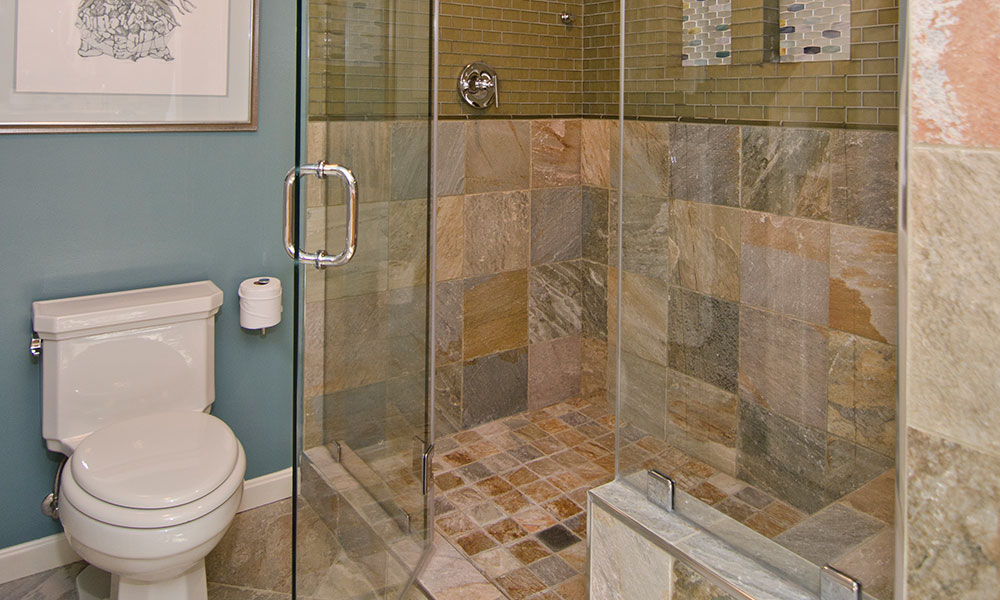 Bathroom Renovations JL Tippett Construction In Virginia - Renovated bathrooms
